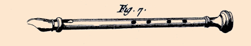 the large flageolet from l'Encyclopédie