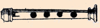 a French flageolet drawn by Freilhon Poncein